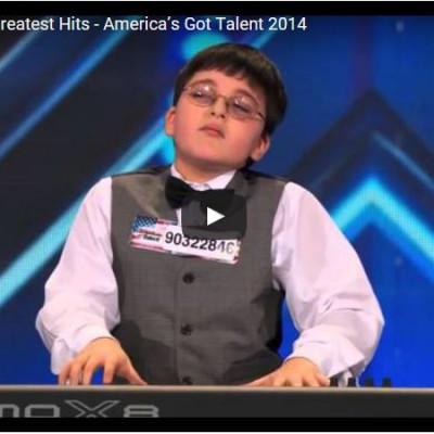 Ardrin Romoff speelt met 9 jaar uitzonderlijk piano!